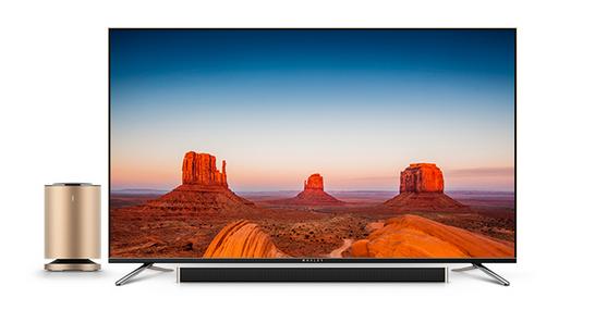微鲸电视WTV43K1通过内置浏览器安装电视应用