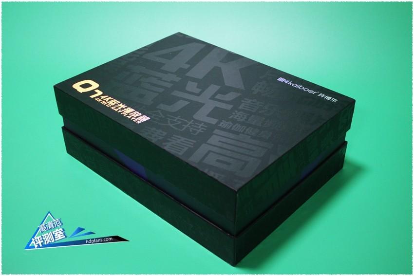 开博尔4K蓝光播放器Q7评测,全球第一款是噱头还是硬实力?