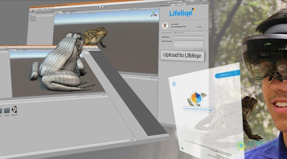 Lifeliqe与K-12教育合作 可用VR观看学生3D作品