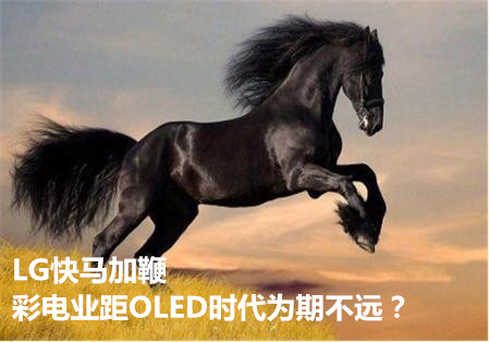 LG快马加鞭 彩电业距OLED时代为期不远?