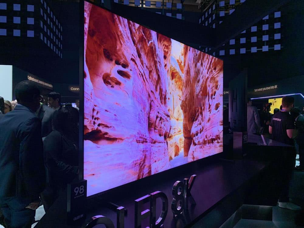 三星98英寸8K电视:AI量子芯片才是黑科技
