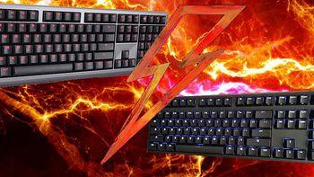 原厂青轴间的对决:CHERRY MX BOARD 6.0 VS ikbc F-108 时光机 108键 机械键盘