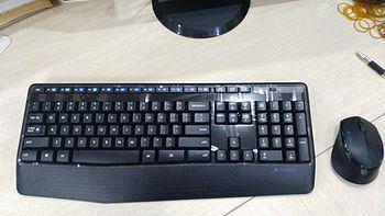 我也换套办公外设:Logitech 罗技 MK345 无线键盘