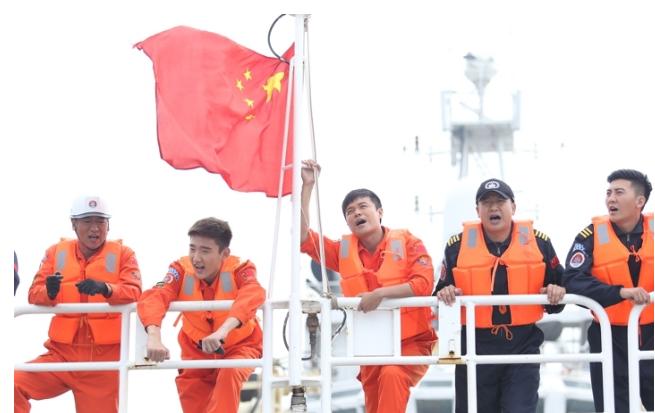 《碧海雄心》智能电视全集资源,真实还原海上救援场景