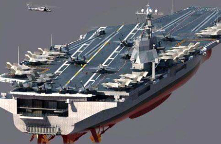 第一艘不用蓝图设计的航母诞生 VR技术助力舰船设计迈入3.0时代