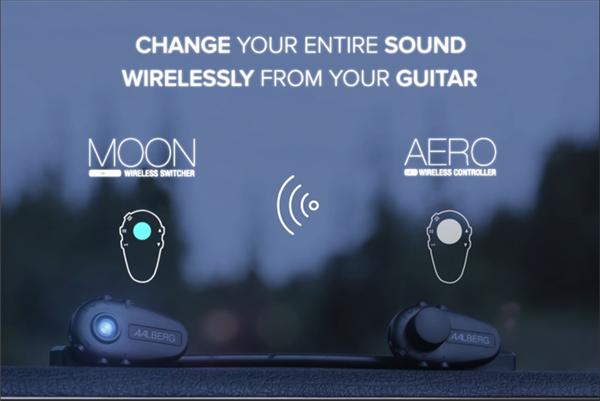 有了MOON切换台,电吉他也能有无线调音台