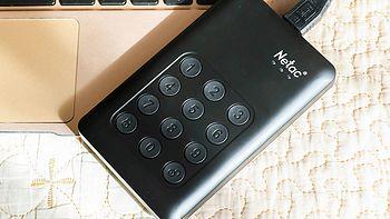 按键加密更安全:朗科 K390 USB3.0 移动硬盘晒单