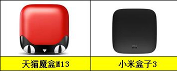 小米盒子3与天猫魔盒M13对比评测 哪个值得买