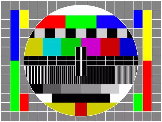 电视机信号测试图像的前世今生