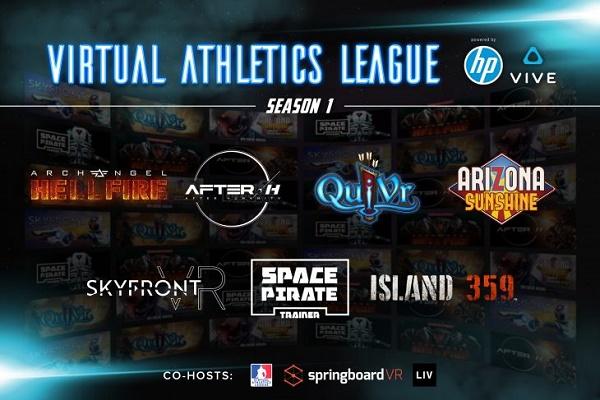 虚拟竞技联盟与HTC Esports成立全球VR电子竞技联盟
