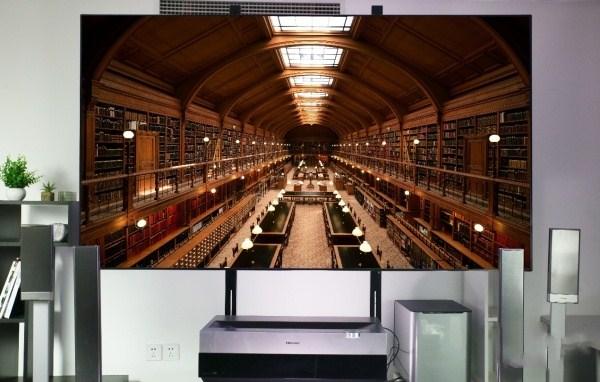 大屏名义最佳诠释 海信88吋4K激光电视评测