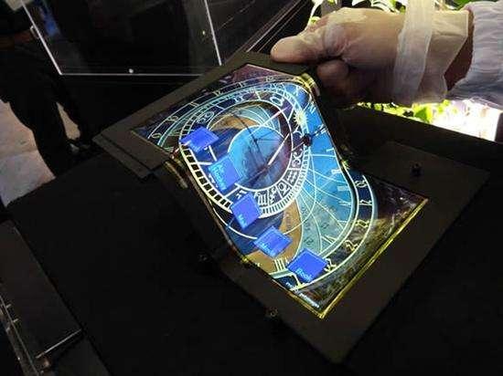 黑夜再也不怕 OLED屏幕未来能穿在身上