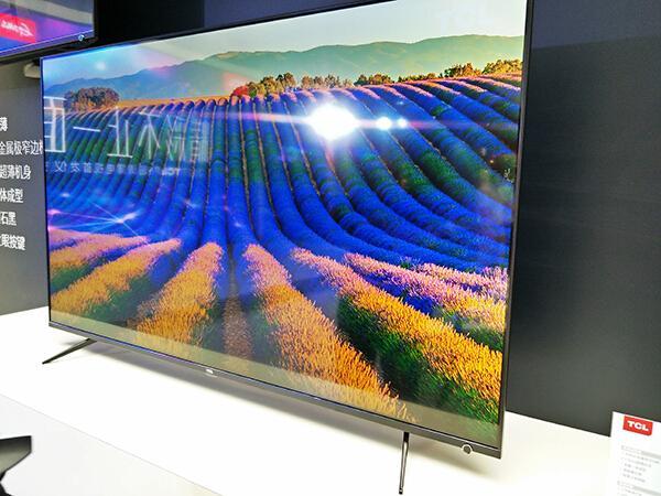 超薄一体化+智慧眼设计,TCL发布P6智能电视新品
