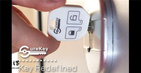 老是怀疑忘了锁门?这款智能钥匙套可以帮到你