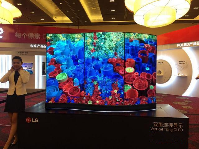 未来电视:LG厚度1mm OLED壁纸电视亮相