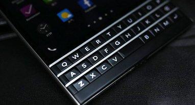 黑莓新手机触摸键盘将提供身份验证功能