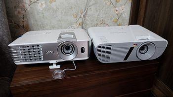 入门级1080P家用投影仪横评:BenQ 明基 W1070+ VS ViewSonic 优派 PJD7831HDL