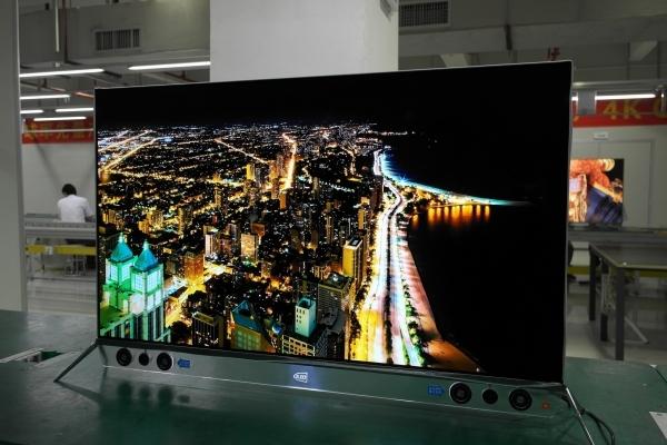 """""""OLED墙纸电视""""来袭 正从未来走进现实"""