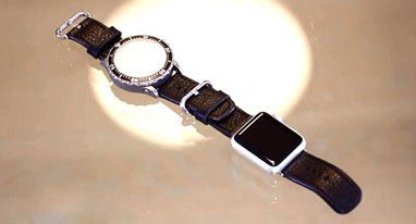 超诡异配件:让你同时戴上传统手表和苹果手表