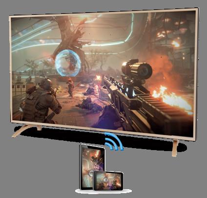 荣为4K电视的开机体检及功能介绍。