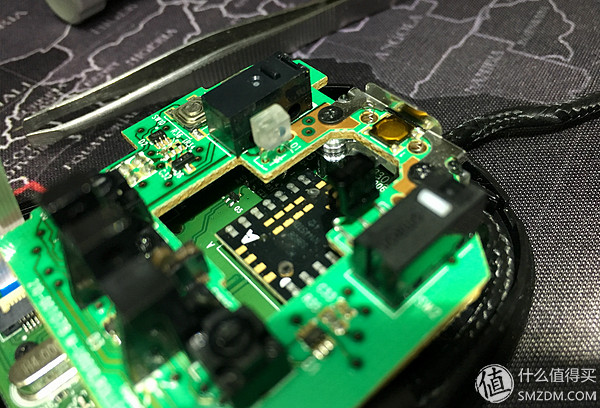 — logitech 罗技 g500s 激光游戏鼠标 更换cherry微动     主板安装