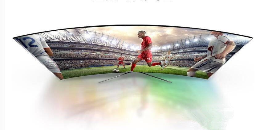 TCL L55C1-CUD曲面电视在生活品质的追求中散发魅力
