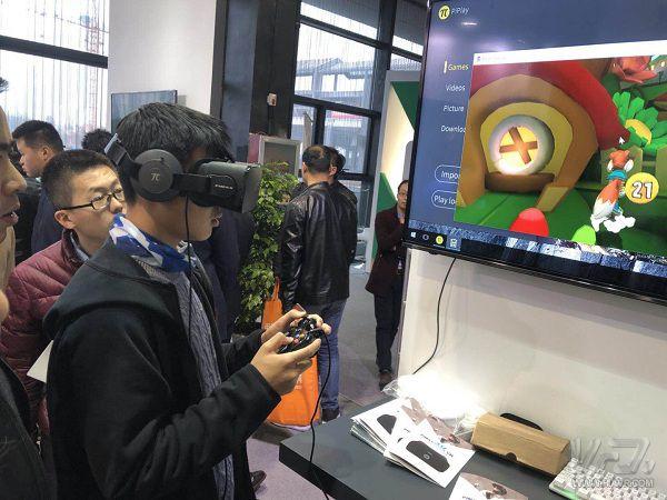 """小派科技亮相互联网大会,""""中国智造""""推动VR产业创新"""