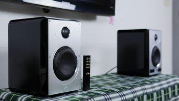 新家购物分享之HiVi 惠威 H5MKII 蓝牙/WIFI2.0 无线有源音箱