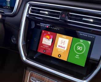 3000万车用市场 中国显示设备制造商布局车用智慧大屏