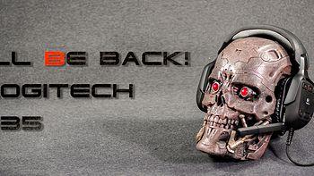 I'll be back!美亚直邮:Logitech 罗技 G35 耳机 开箱测评