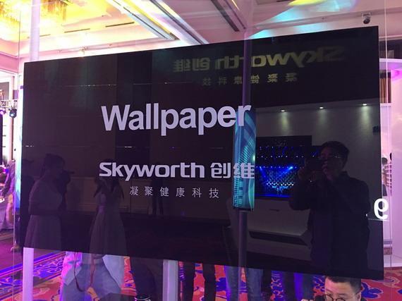 """""""像纸一样薄""""的壁纸电视会有未来吗?"""