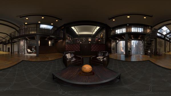 NBA为谷歌推出VR应用 让你亲访球星豪华休息室