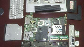 笔记本拆机清灰 篇二:DELL 戴尔 灵越 1420 拆机清灰