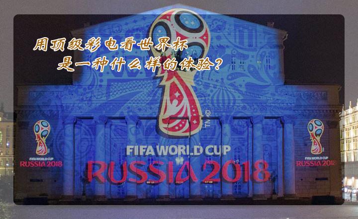 用顶级彩电看世界杯是一种什么样的体验?