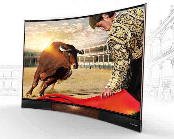 高品质曲面电视推荐 跨年晚会观看神器