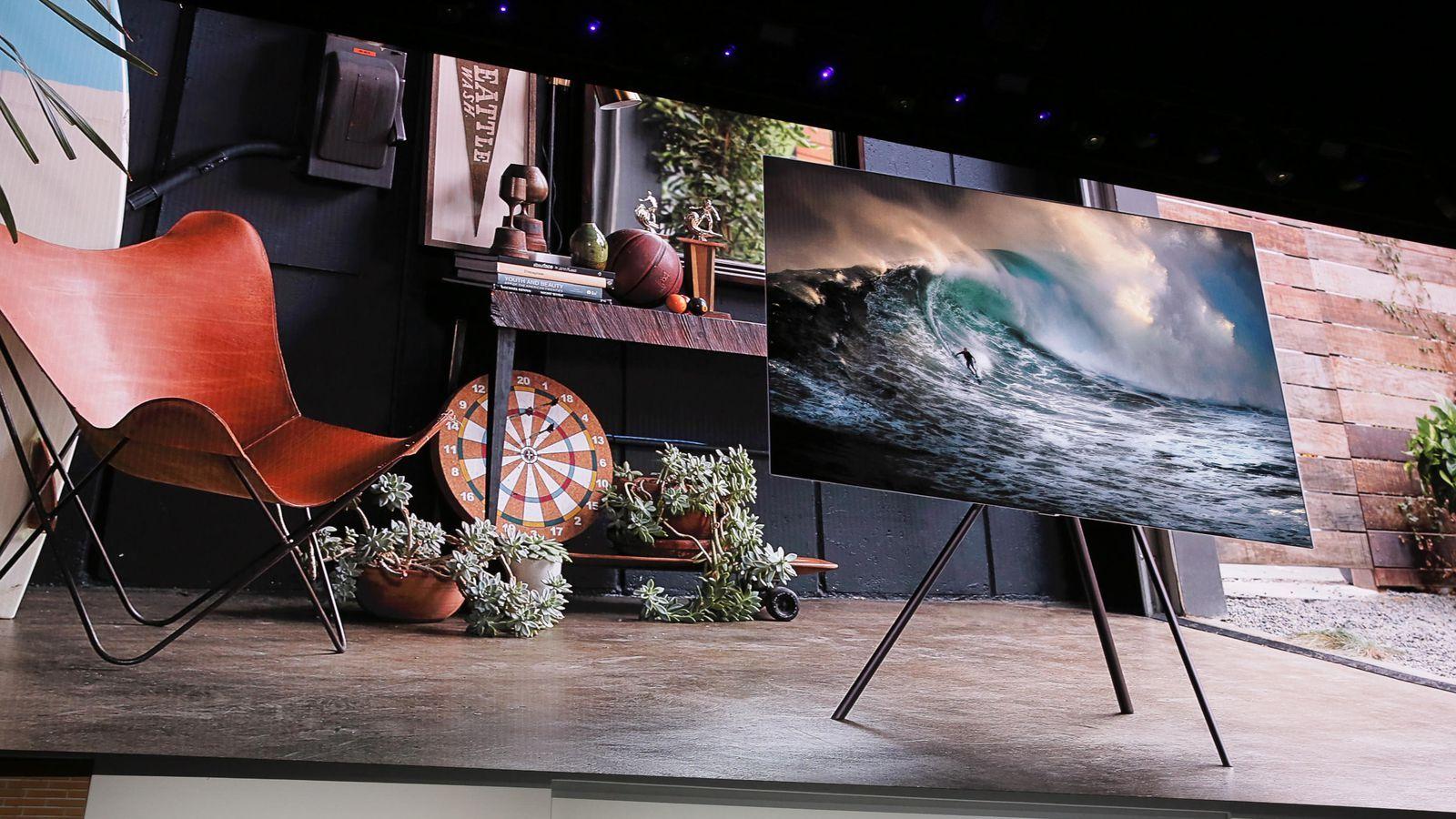 三星将于下个月发布电视新品,支持 8K 的旗舰电视