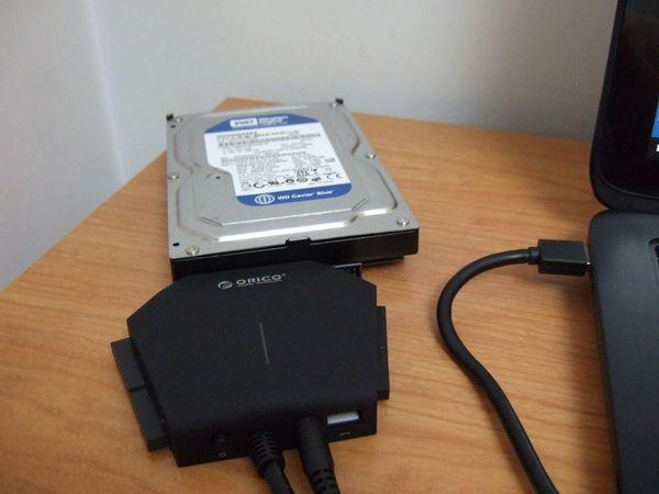 老旧硬盘的春天 ORICO三合一多用便捷易驱线体验