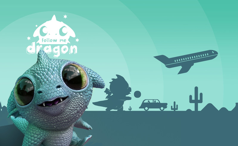 """""""巨龙""""培育计划,AR游戏《Follow Me Dragon》登陆iPhone"""
