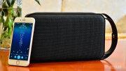 蓝牙音箱也能玩转低重音,体验朗琴M600