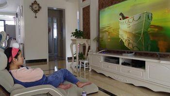 """对投影仪说NO!看我用75英寸4K电视打造""""伪家庭影院"""""""