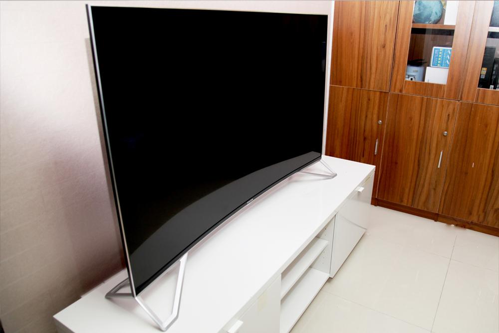 雷鸟曲面电视I55C-UI评测——曲·艺自天成