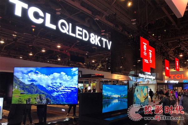 """CES20198K电视成为了一道亮丽的""""风景线"""""""