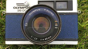 也玩过几台相机 篇四:还是要说再见了:Olympus 奥林巴斯 35DC