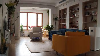 100平米北欧混搭各种风 篇二:自己折腾的自己最满意—我的客厅和玄关