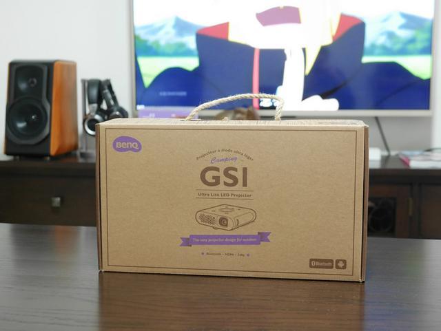 能握在掌心的户外微型投影 明基GS1体验