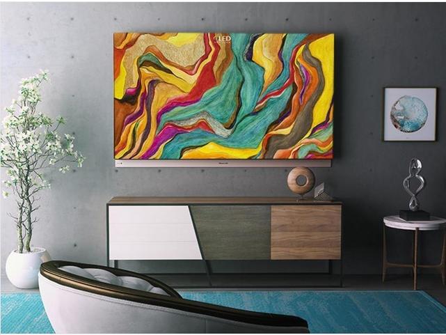 设计PK索尼 创维65吋OLED电视妙壁生画