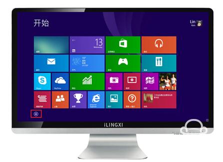 爱灵希发布全国首款WIN8智能电视