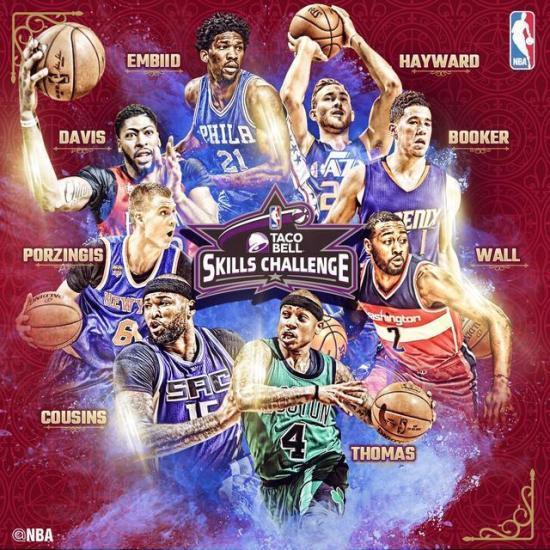 2017年NBA全明星技巧挑战赛,用电视盒子看全场直播