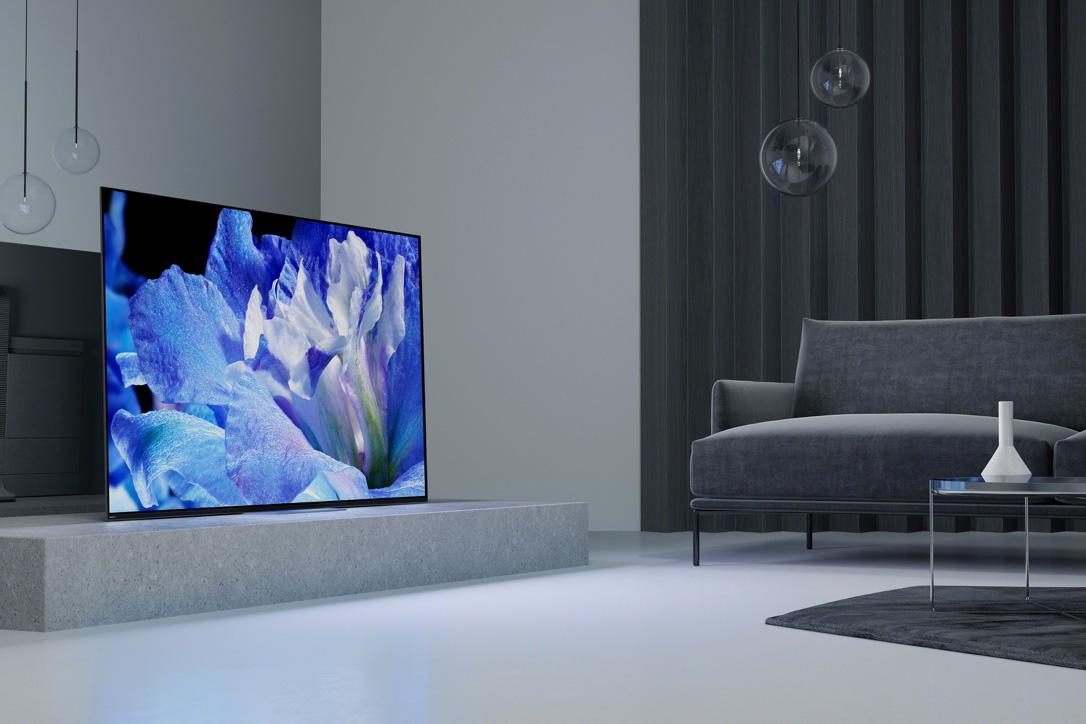 全球首发 索尼OLED电视重磅亮相2018 AWE