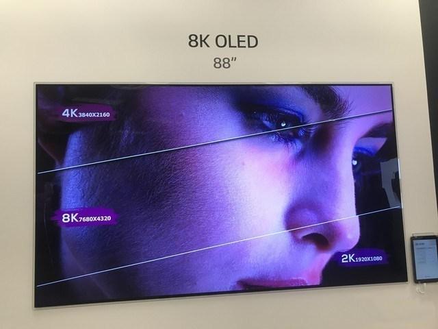 惊艳!LG 88英寸8K OLED电视上手体验
